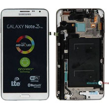 Samsung N7505 Note 3 Neo Lcd Ekran Servis Beyaz