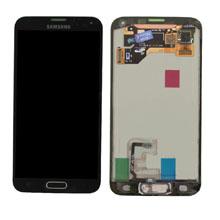 Samsung G900 S5 Lcd Ekran Revizyon Orijinal Siyah