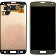 Samsung G900 S5 Lcd Ekran Revizyon Orijinal Gold Altın