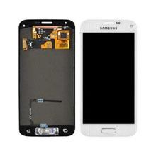 Samsung G800 S5 Mini Lcd Ekran Revizyon Orijinal Beyaz