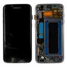 Samsung G935 S7 Edge Lcd Ekran Servis Siyah