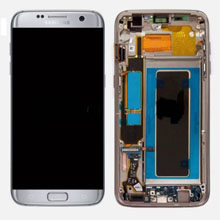 Samsung G935 S7 Edge Lcd Ekran Servis Gümüş