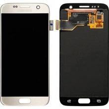 Samsung G930 S7 Lcd Ekran Servis Gold Altın