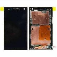 Sony Xperia Lt26 Lcd Ekran Çıtasız Siyah