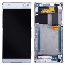 Sony Xperia C5 Ultra Lcd Ekran Çıtalı Beyaz