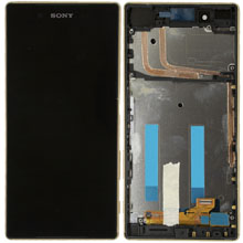 Sony Xperia Z5 Lcd Ekran Gold Altın