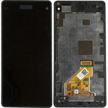 Sony Xperia Z1 Mini Lcd Ekran Çıtalı Siyah